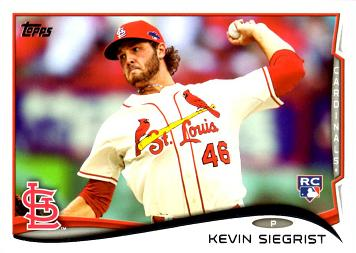 Kevin Siegrist Rookie Card