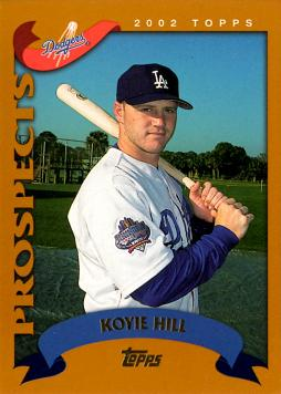 2002 Topps Traded Koyie Hill Rookie Card