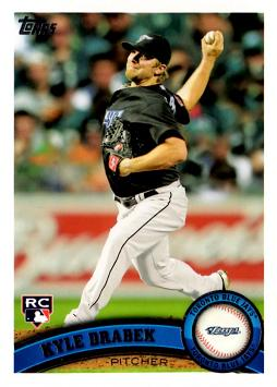 Kyle Drabek Rookie Card