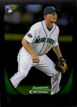 2011 Bowman Chrome Draft Baseball Kyle Seager Rookie Card