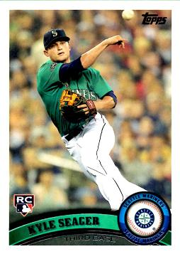 Kyle Seager Rookie Card