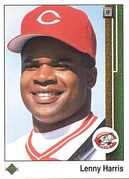 1989 Upper Deck Lenny Harris Rookie Card