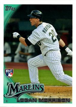 2010 Topps Update Logan Morrison Rookie Card