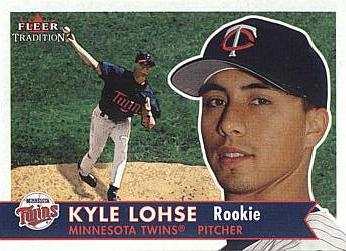 2001 Fleer Kyle Lohse Rookie Card