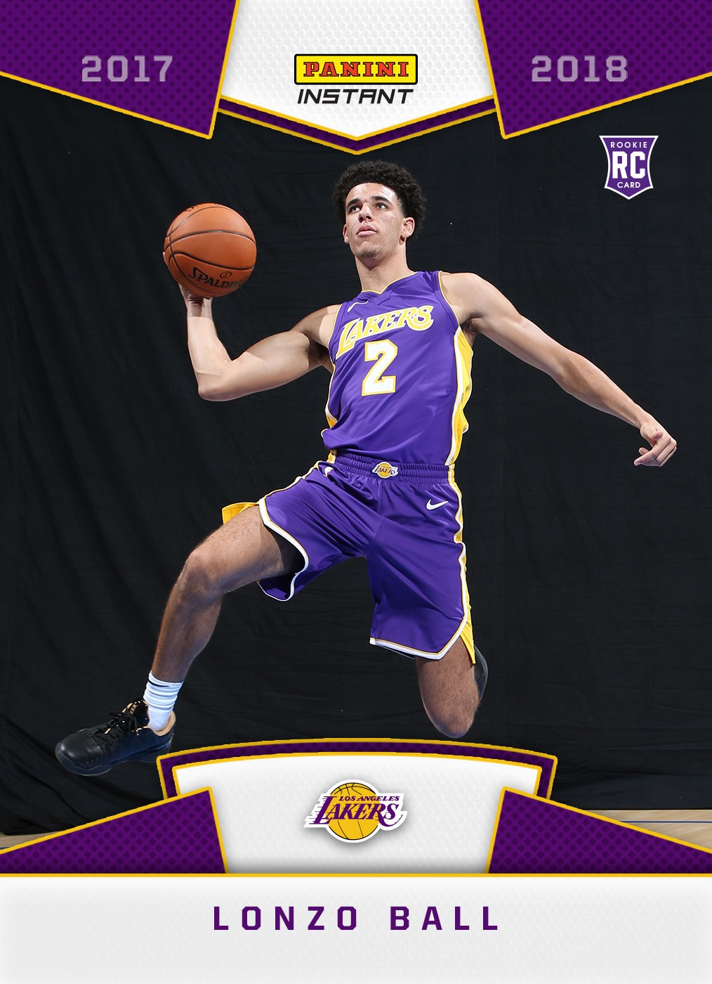 Lonzo Ball Rookie Card