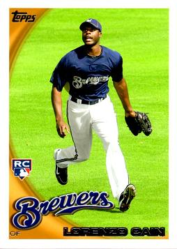 Lorenzo Cain Rookie Card