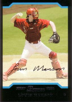 2004 Bowman Lou Marson Baseball Rookie Card