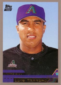 2000 Topps Traded Luis Terrero Rookie Card