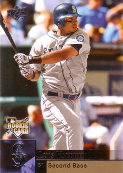 2009 Upper Deck Luis Valbuena Baseball Rookie Card