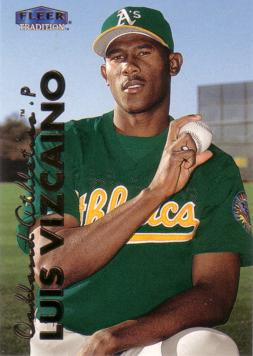 1999 Fleer Update Luis Vizcaino Rookie Card