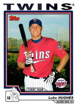 2004 Topps Traded Luke Hughes Rookie Card