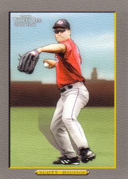 2005 Topps Turkey Red Luke Scott Rookie Card