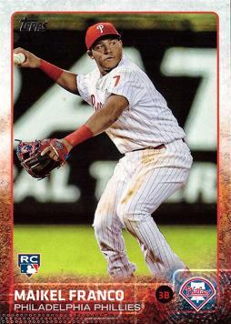 Maikel Franco Rookie Card