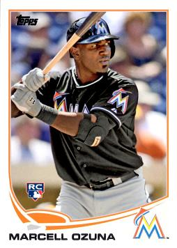 2013 Topps Update Baseball Marcell Ozuna Rookie Card