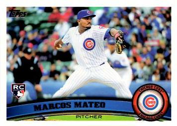 2011 Topps Marcos Mateo Rookie Card