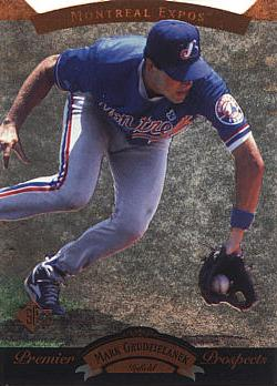 1995 SP Mark Grudzielanek Rookie Card