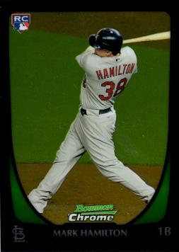 2011 Bowman Chrome Draft Mark Hamilton Rookie Card