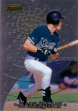 1997 Bowman's Best Mark Kotsay Rookie Card