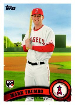 Mark Trumbo Rookie Card