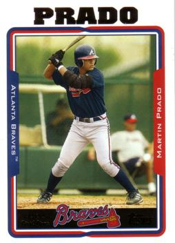 Martin Prado Rookie Card