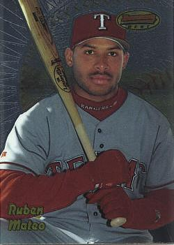 1998 Bowman's Best Ruben Mateo Rookie Card