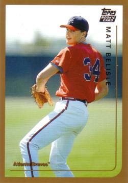 1999 Topps Traded Matt Belisle Rookie Card