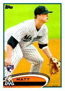 2012 Topps Matt Dominguez Rookie Card