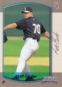 2000 Bowman Matt Ginter Rookie Card