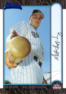 Matt Holliday Rookie Card