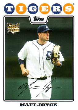 2008 Topps Update Matt Joyce Rookie Card