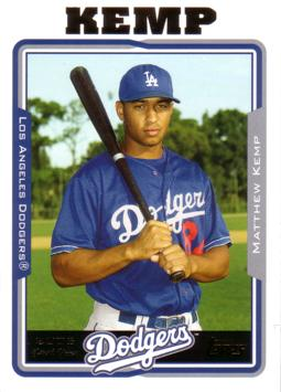 Matt Kemp Rookie Card