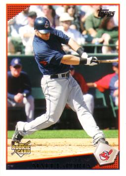 2009 Topps Update Matt LaPorta Pre-Rookie Card