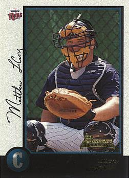 1998 Bowman Matthew LeCroy Rookie Card