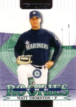2002 Donruss the Rookies Matt Thornton Rookie Card