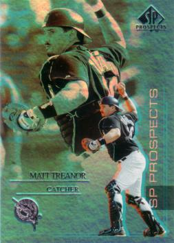 2004 SP Prospects Matt Treanor Rookie Card