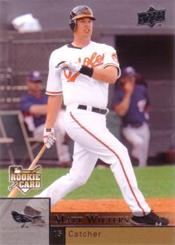 2009 Upper Deck Matt Wieters Rookie Card