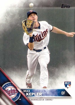 Max Kepler Rookie Card