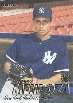 1997 Fleer Ramito Mendoza Rookie Card