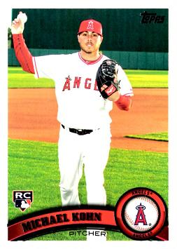 2011 Topps Michael Kohn Rookie Card