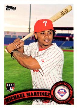 2011 Topps Michael Martinez Rookie Card