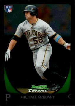 Michael McKenry Rookie Card