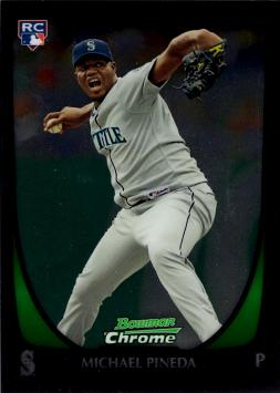 Michael Pineda Bowman Chrome Rookie Card