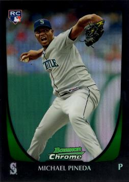 Michael Pineda Refractor Rookie Card