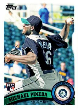 2011 Topps Michael Pineda Rookie Card
