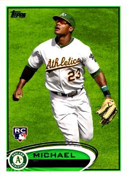 2012 Topps Michael Taylor Rookie Card