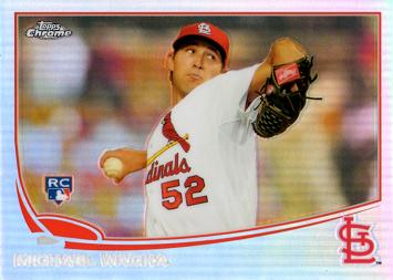 Michael Wacha Topps Chrome Refractor Rookie Card