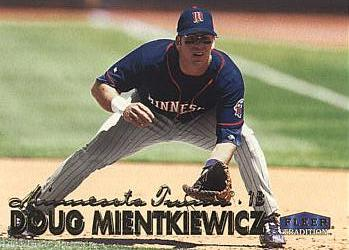 1999 Fleer Update Doug Mientkiewicz Rookie Card