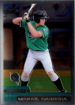 Miguel Cabrera Topps Chrome Traded Rookie Card