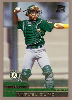 2000 Topps Traded Miguel Olivo Rookie Card