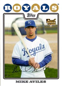 Mike Aviles Rookie Card